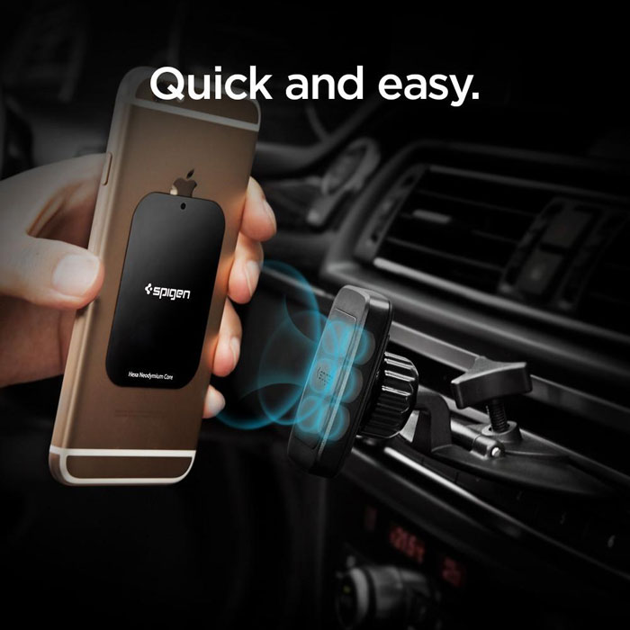 new arrival fcabe 8f697 Spigen Kuel H23 CD Slot Magnetic Car Mount - Cellular Accessories ...
