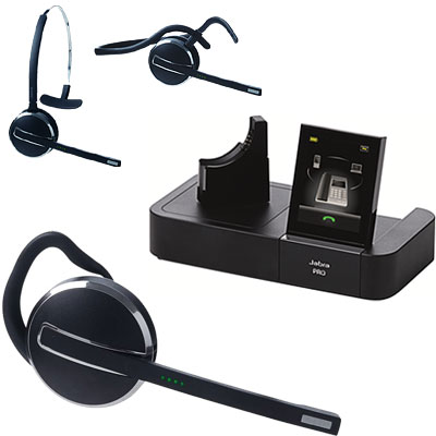 8e2e35e84bf Jabra PRO 9470 Wireless Headset With Touch Screen Base - Cellular ...