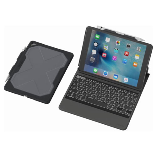 Zagg Rugged Keyboard Folio Case Cellular Accessories For